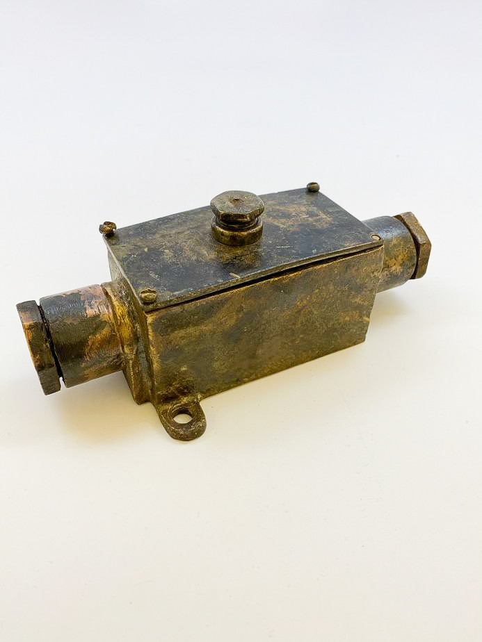 image of 1916-1941 Electrical Relay Switch, USS Arizona, U.S. Navy, 1916. From the collection of the Arizona Capitol Museum by