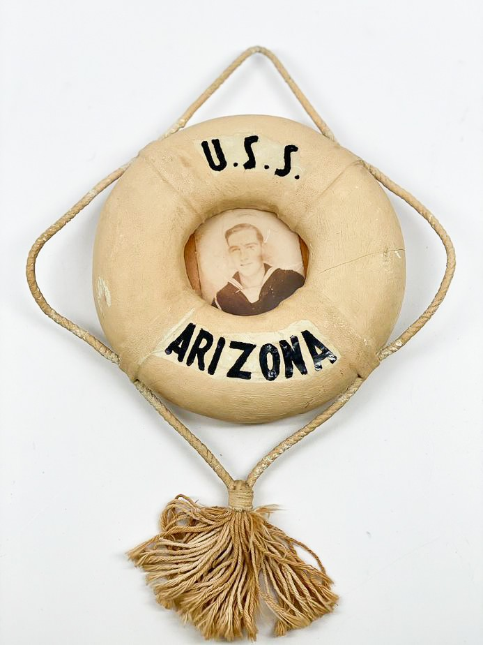 image of 1940-1941 Handmade Frame belonging to Donald Gordon, Donald Gordon, 1940/1941. From the collection of the Arizona Capitol Museum by