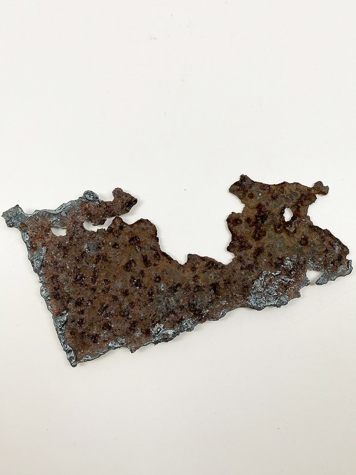 image of Piece of the USS Arizona, U.S. Navy, 1916. From the collection of the Arizona Capitol Museum by
