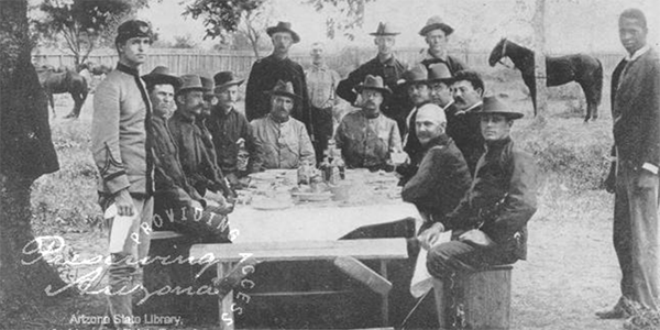 image of Rough Riders and the Spanish American War