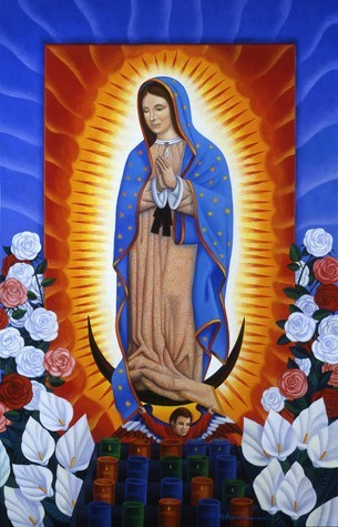 artwork image Special Intentions to Our Lady of Guadalupe by Frank Ybarra
