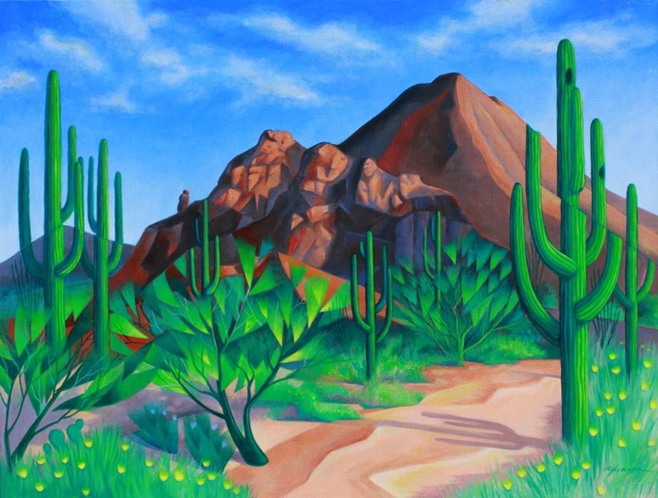 artwork image West of Camelback by Frank Ybarra