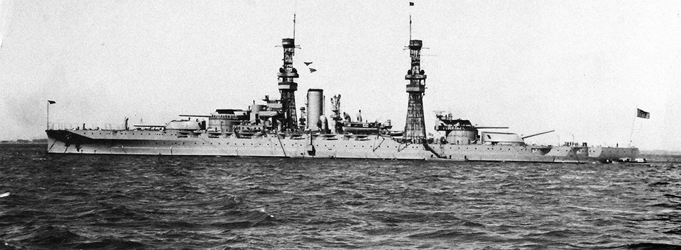 photo of USS Arizona Battleship