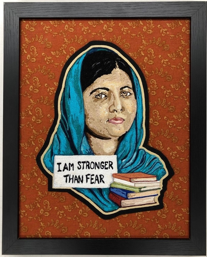 artwork image Malala Yousafzai by Castelletti, Sue