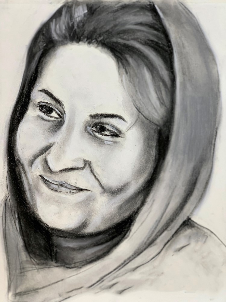 artwork image This is Me: Portraits of Iranian Women 6 by Nourian, Nasim