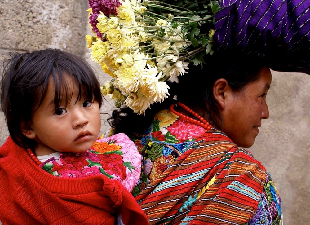 artwork image Guatemalan Mother and Child by Santi, Gina
