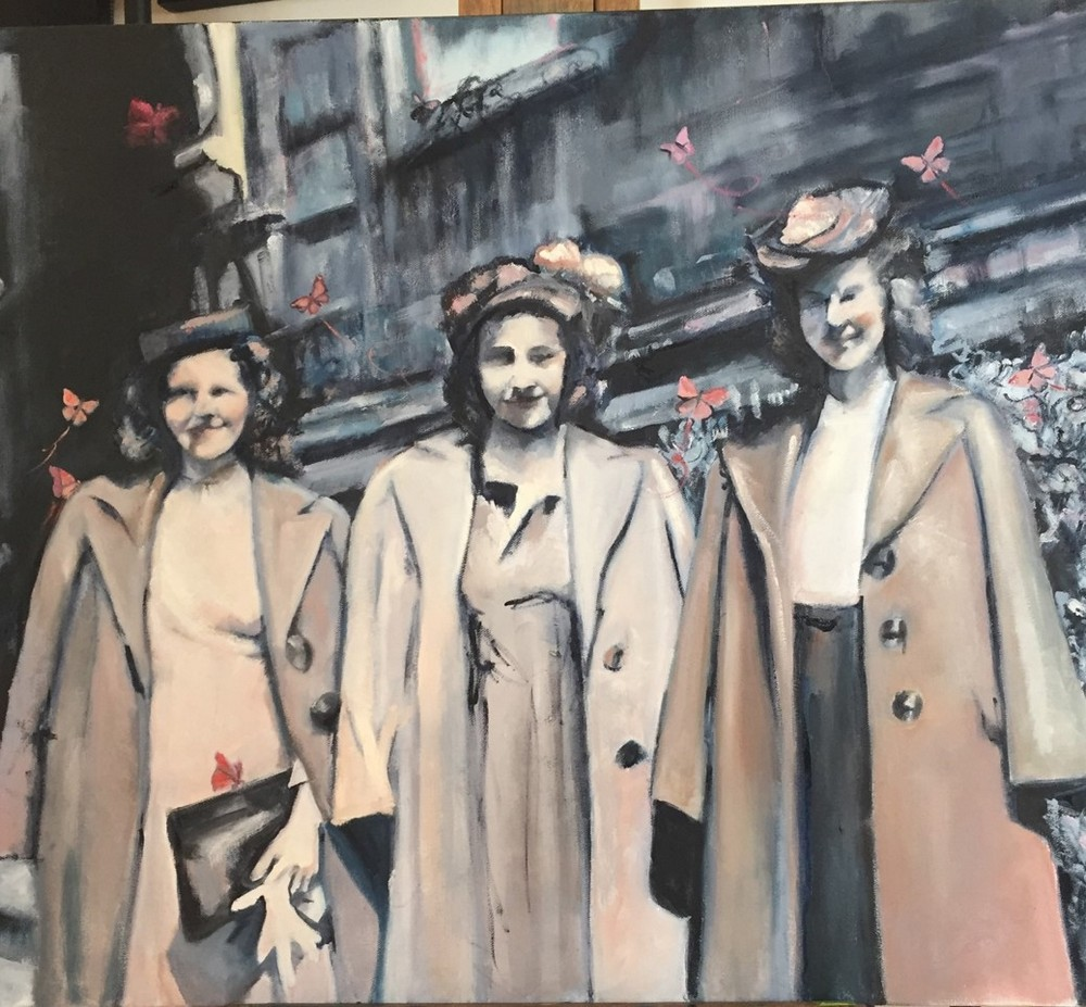 artwork image Women of Washington DC by Spradling, Rebecca