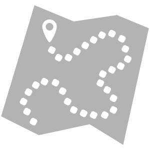 grey map icon