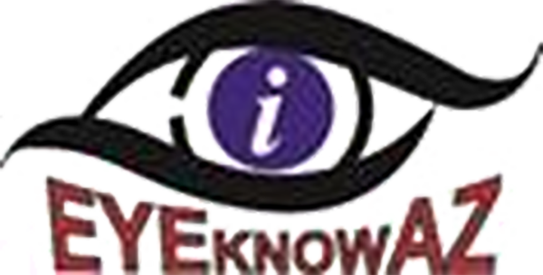 image of EYEKNOWAZ logo