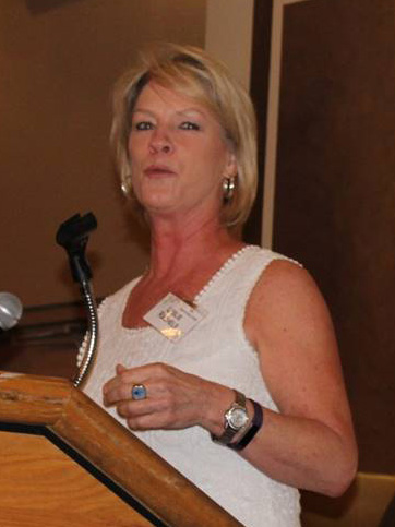 photo of Leslie Rachels, Vice-President of the Friends Board