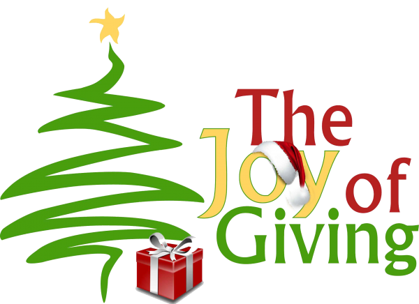Graphic of The Joy of Giving