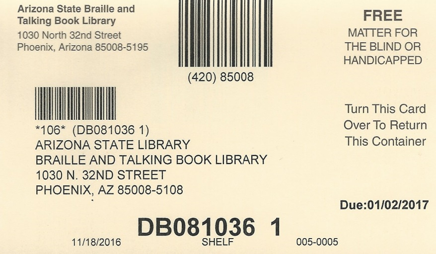 image of mail card