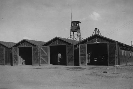 Fire department at Poston Relocation Camp