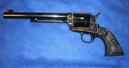 Photo of a Colt Single Action Army Revolver
