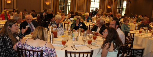 picture of volunteers enjoying the 2018 Volunteer Luncheon